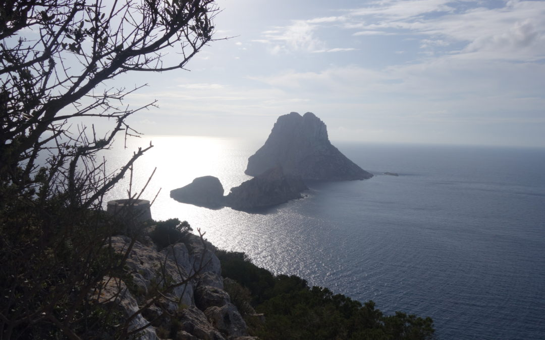 Ibiza – Es Vedra (Spanische Insel) Blick von Cala Calador