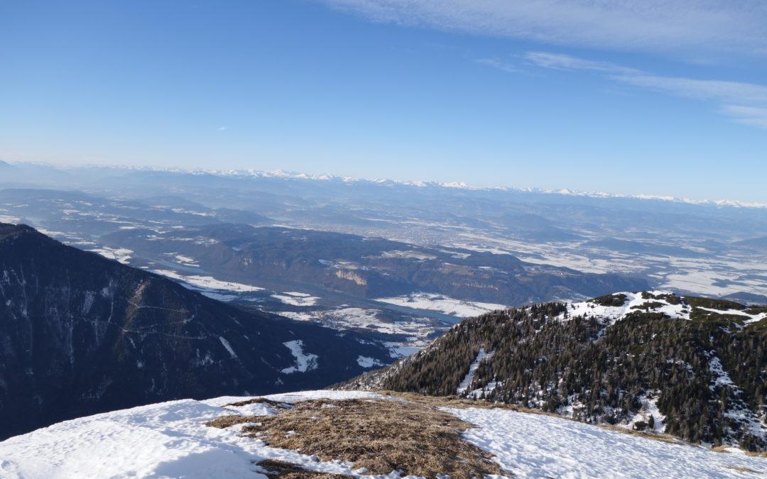 Vom Schaidasattel auf den Hochobir (2.139m)